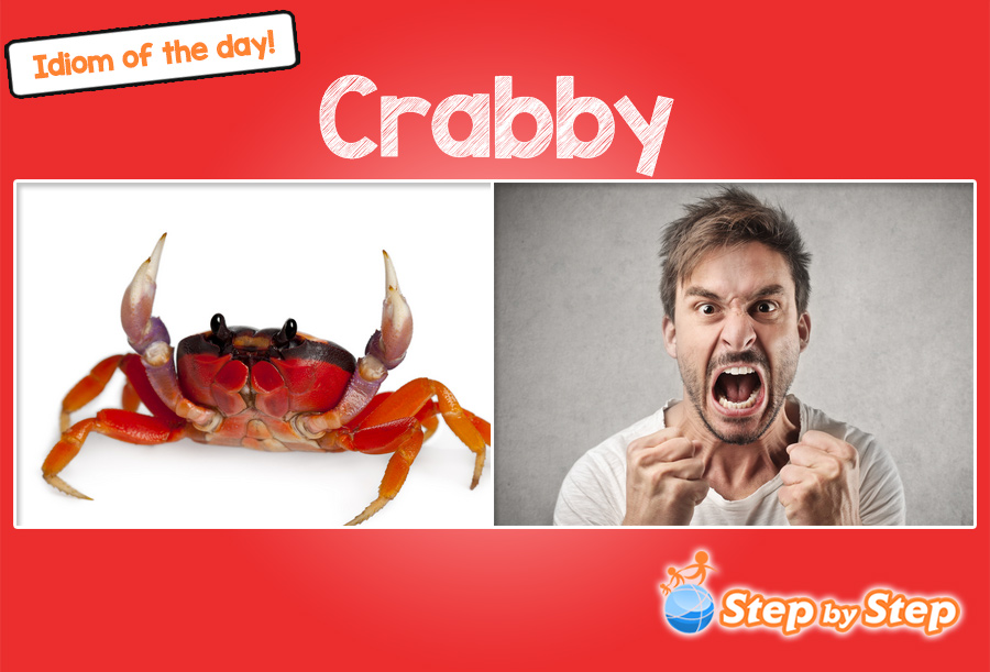 crabby idiom meaning with pictures